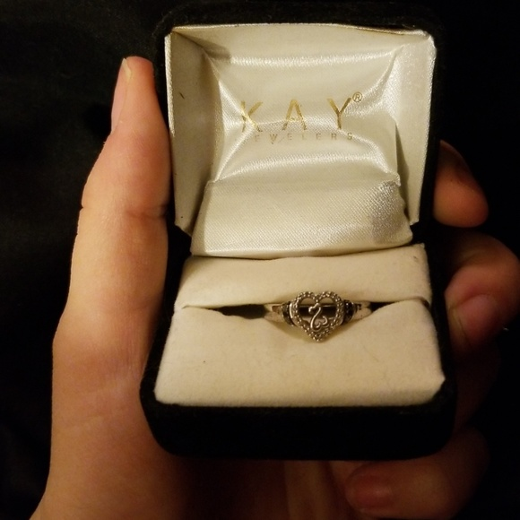 Kay Jewelers Jewelry Kay Open Heart Ring My Ex Bf Got Me Poshmark